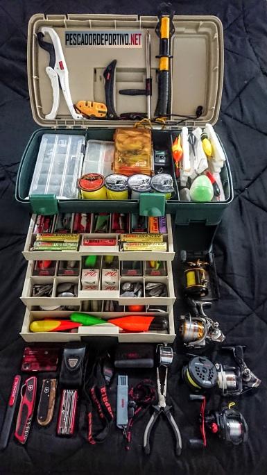 Caja Pesca Plano