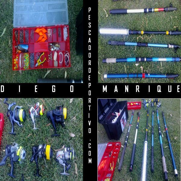 Equipo pesca - Diego Manrique
