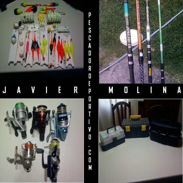 Equipo pesca - Javier Molina