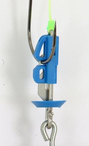 """El Splash Down Clips Gemini cebo son versátiles! Pueden ser utilizados con cebos grandes o pequeños, equipos de un solo gancho, plataformas de múltiples anzuelos, de hecho, casi cualquier plataforma recortados abajo que puedas imaginar. El Splash Down Clips cebo puede ser atado / plegado directamente en el equipo de perforación o unido a un equipo de perforación existente a través de un enlace. Sold 5 por paquete."""""""
