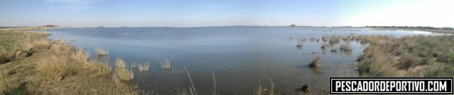 Panoramica (no muy bien sacada) de la zona en la cual pescamos todo el día