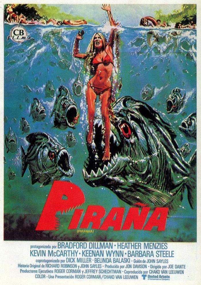 PIRAÑA - Piranha - 1978