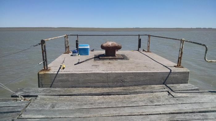 El lugar desde el cual pesque
