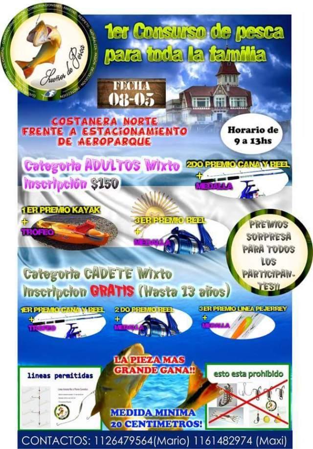 Concurso Pesca Familiar