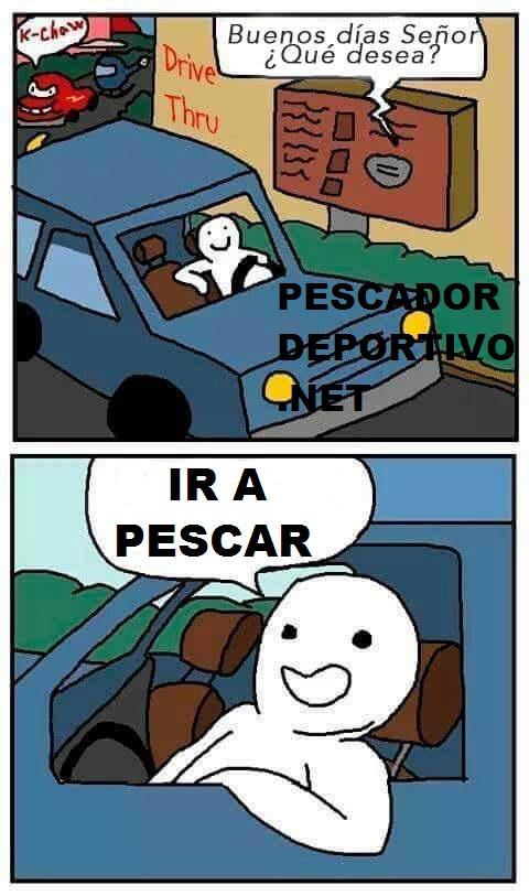 DESEO IR A PESCAR