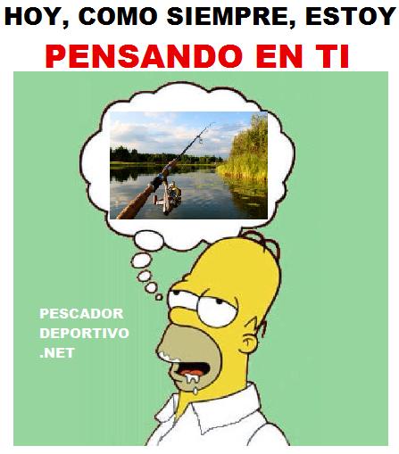 HOMERO PENSANDO PESCA
