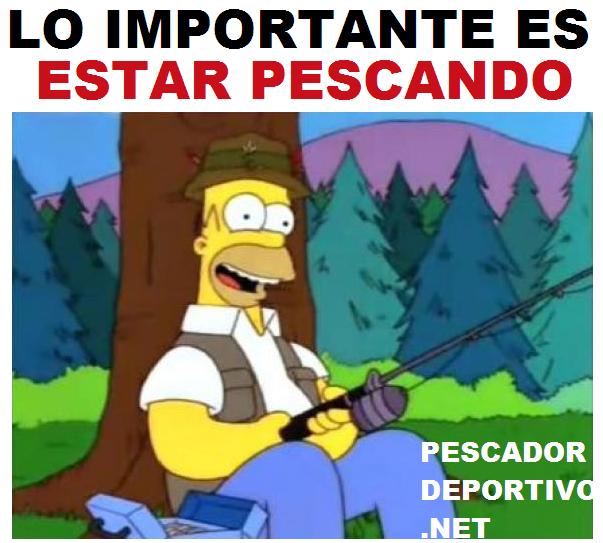 IMPORTANTE ES ESTAR PESCANDO