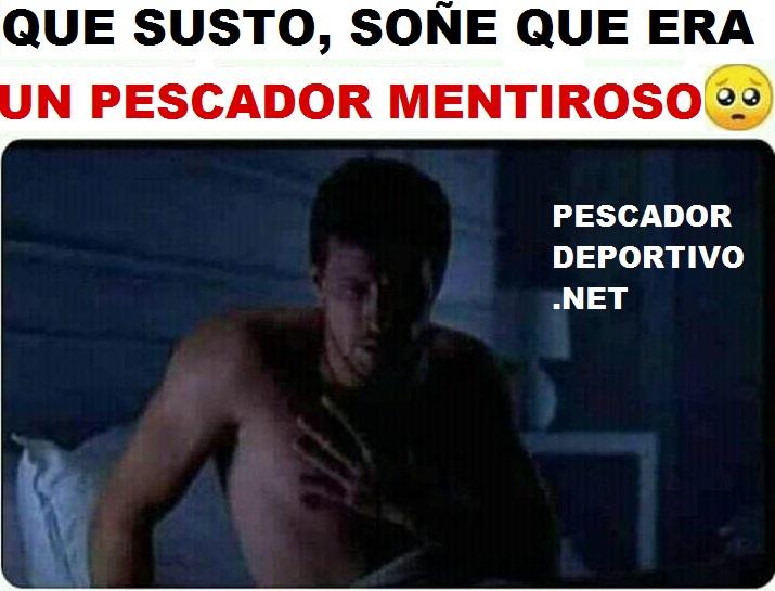 MENTIRA PESCA