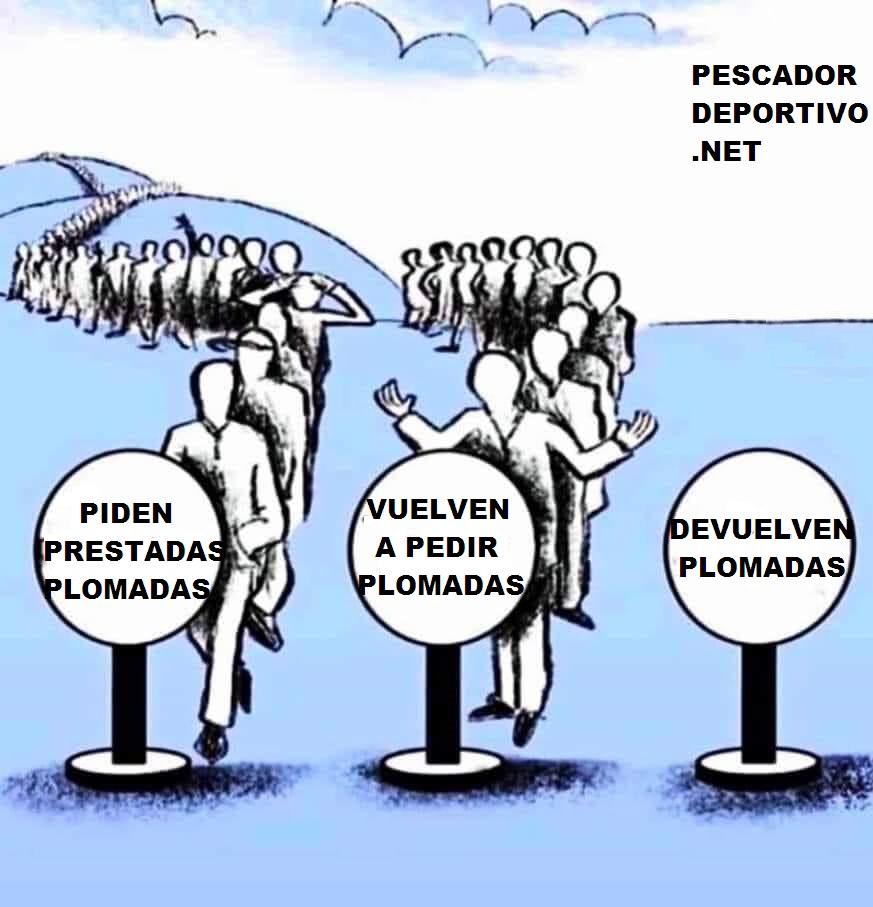 NO DEVUELVEN PLOMADAS