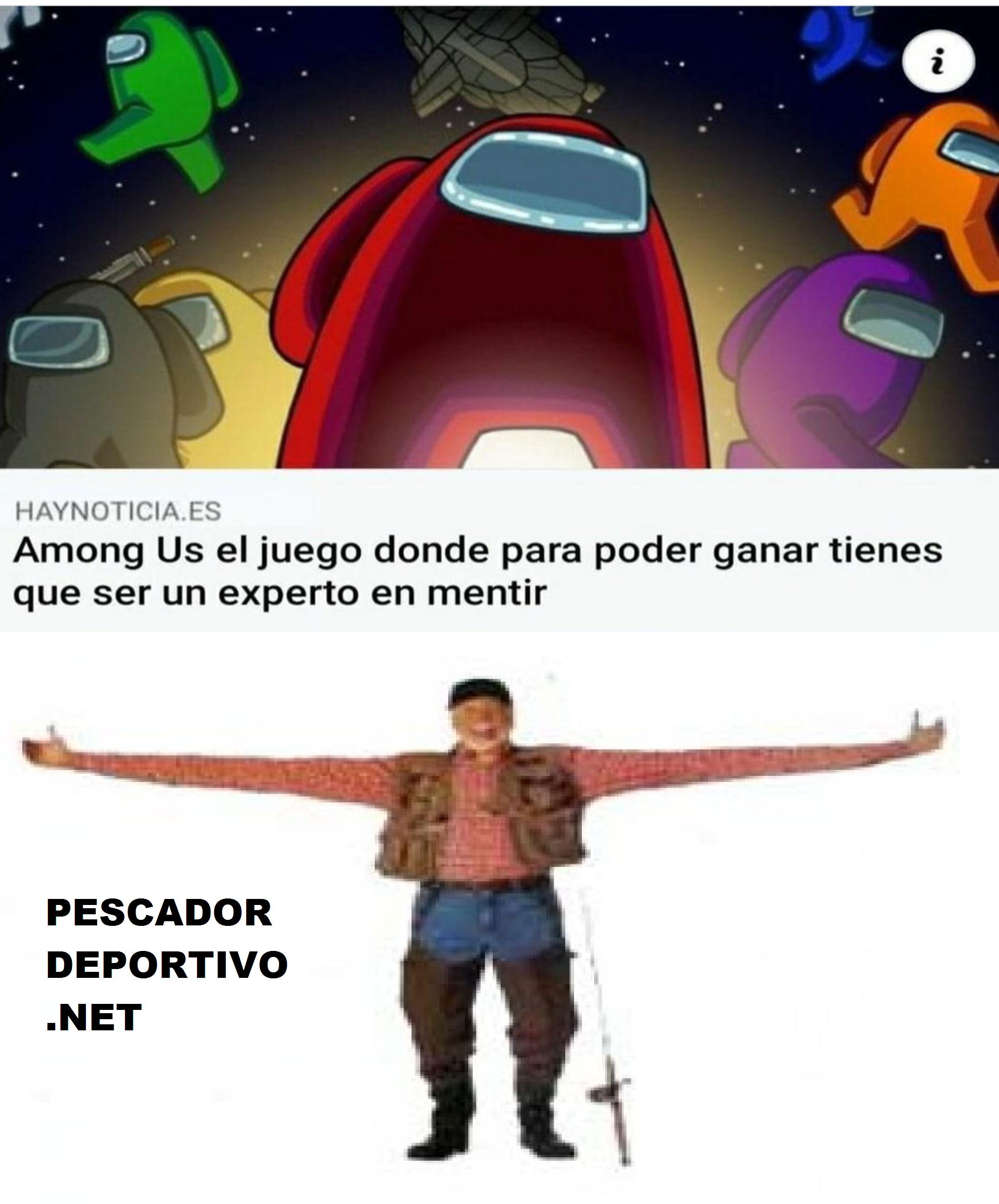 PESCA MIENTE JUEGO