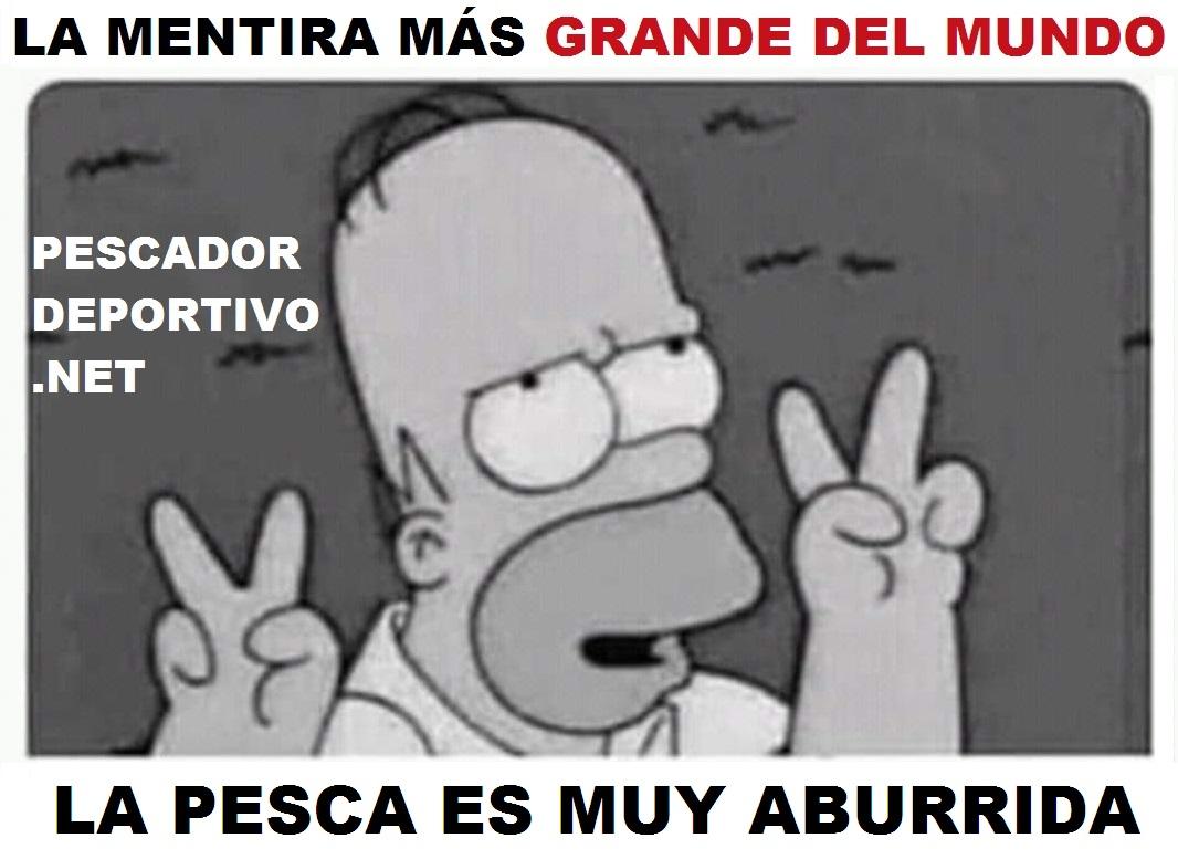 PESCA MUY ABURRIDA