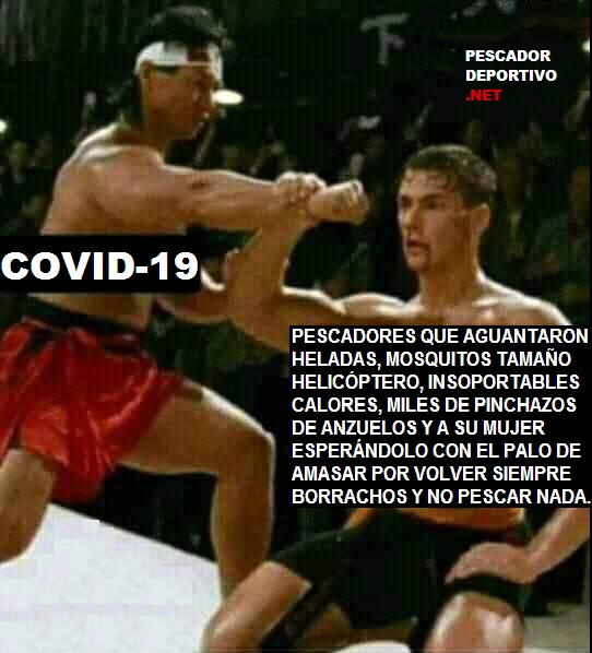Covid 19 vs Pescadores